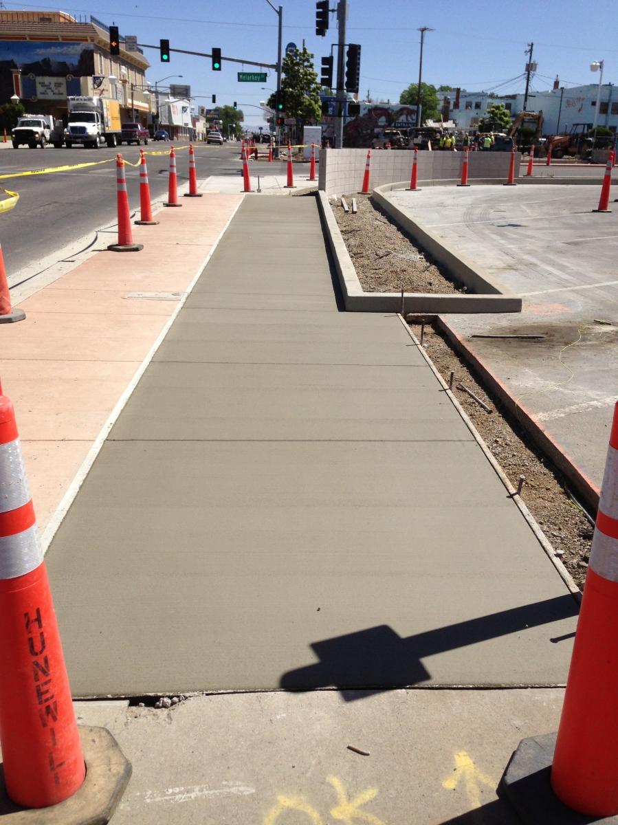 Accelerated Set Concrete