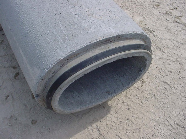 Concrete storm sewer pipe