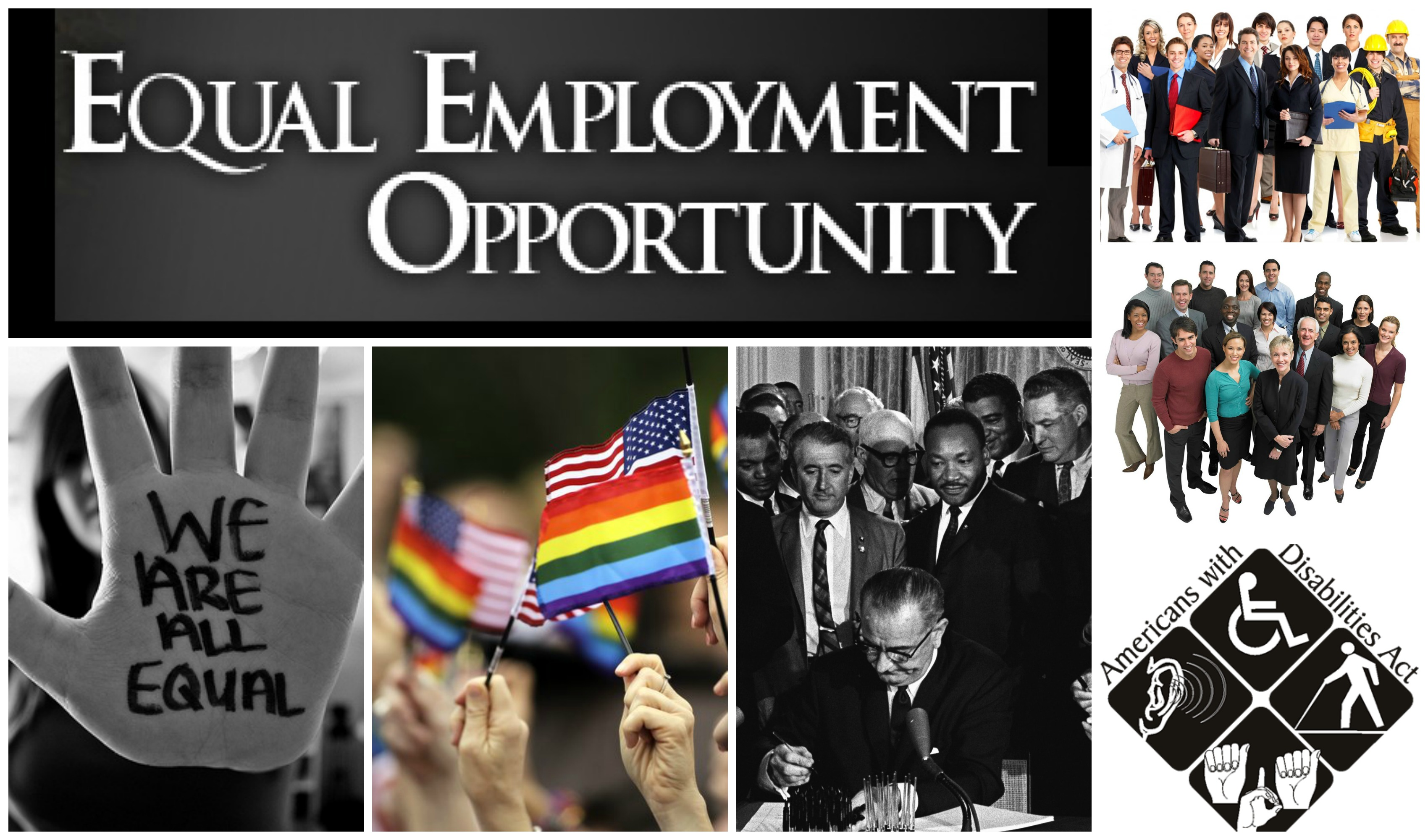 equal opportunity employment In implementing the requirements of equal employment opportunity commission's (eeoc) equal employment opportunity management directive 715, the department of homeland security's headquarters office of equal employment opportunity strives to ensure that all employees and applicants for employment enjoy equality of opportunity and employment.