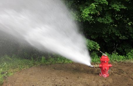hydrant blowoff