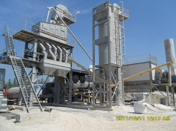 Movable_asphalt_batch_mix_plant
