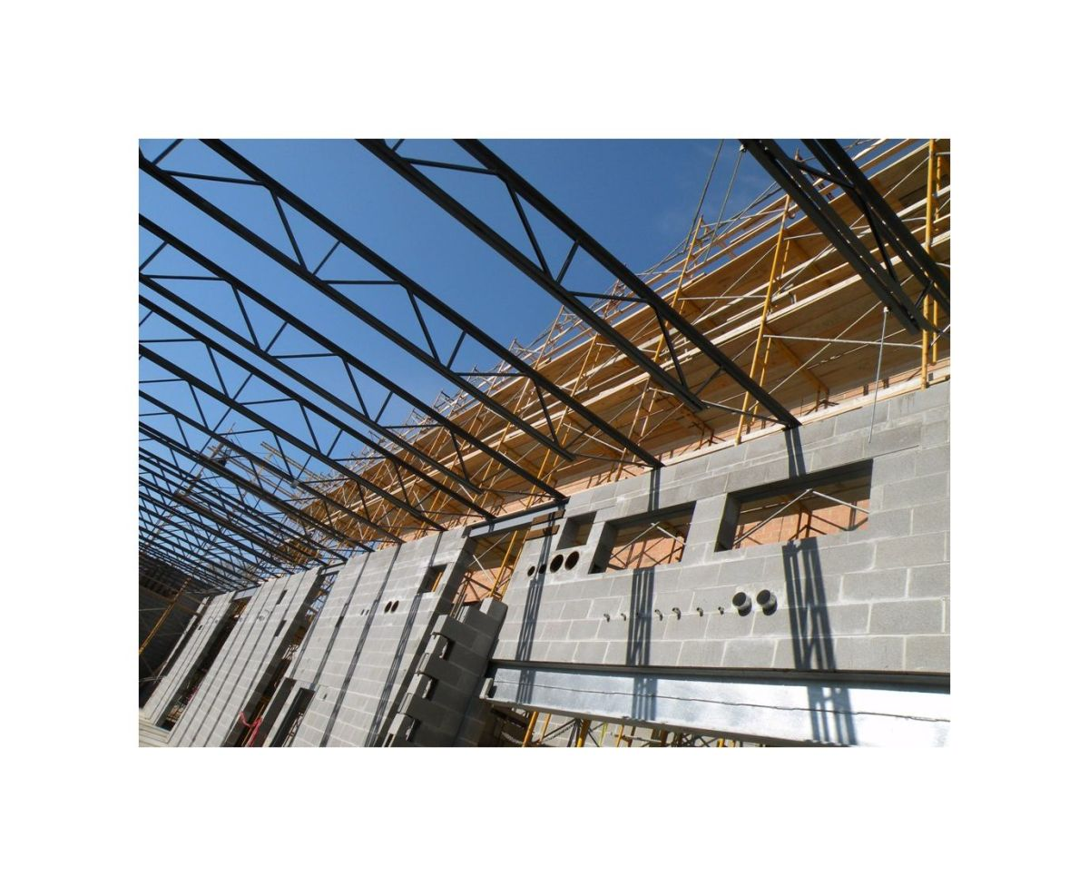 Open web steel joists for Open web trusses