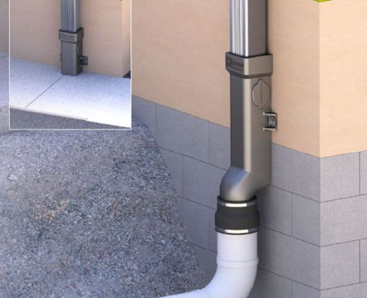 Downspout Boots