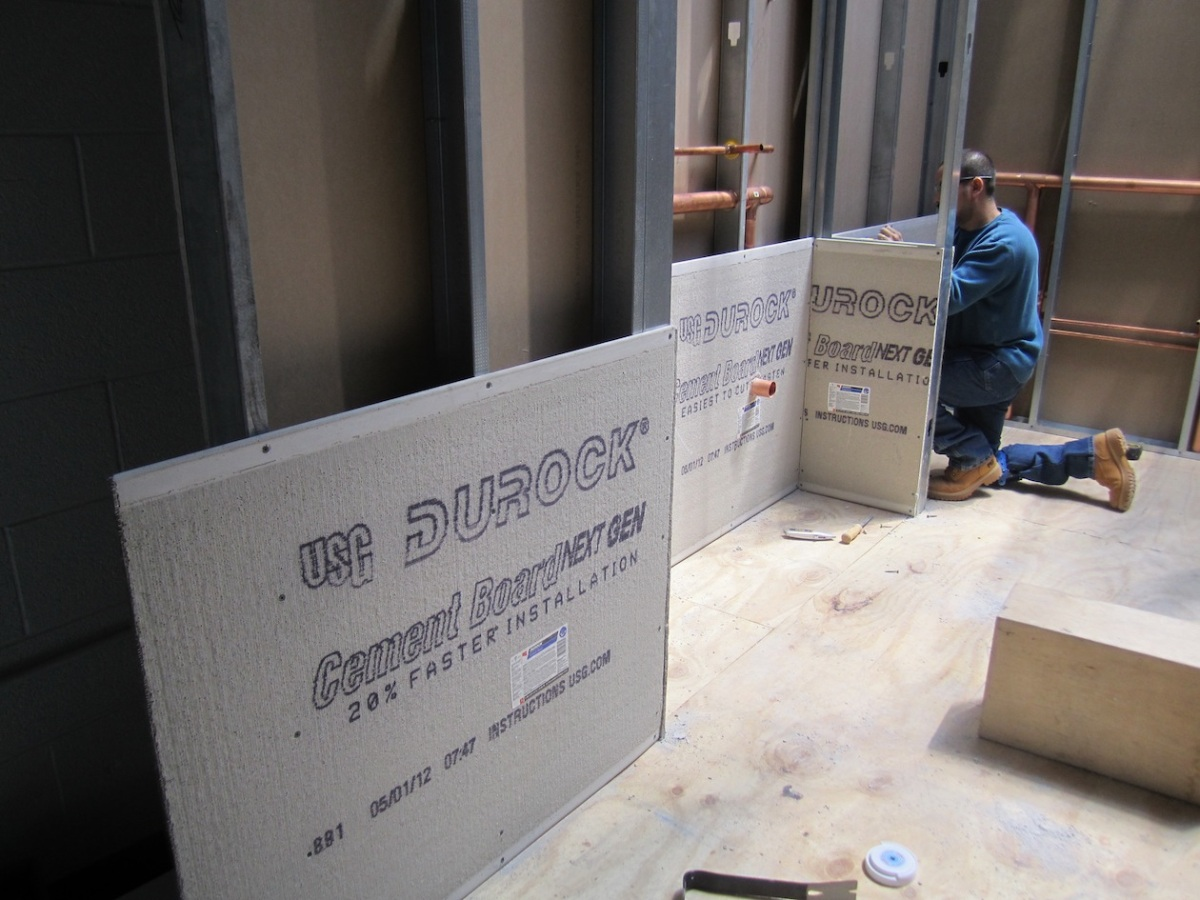 Plastic Cement Board : Cement board