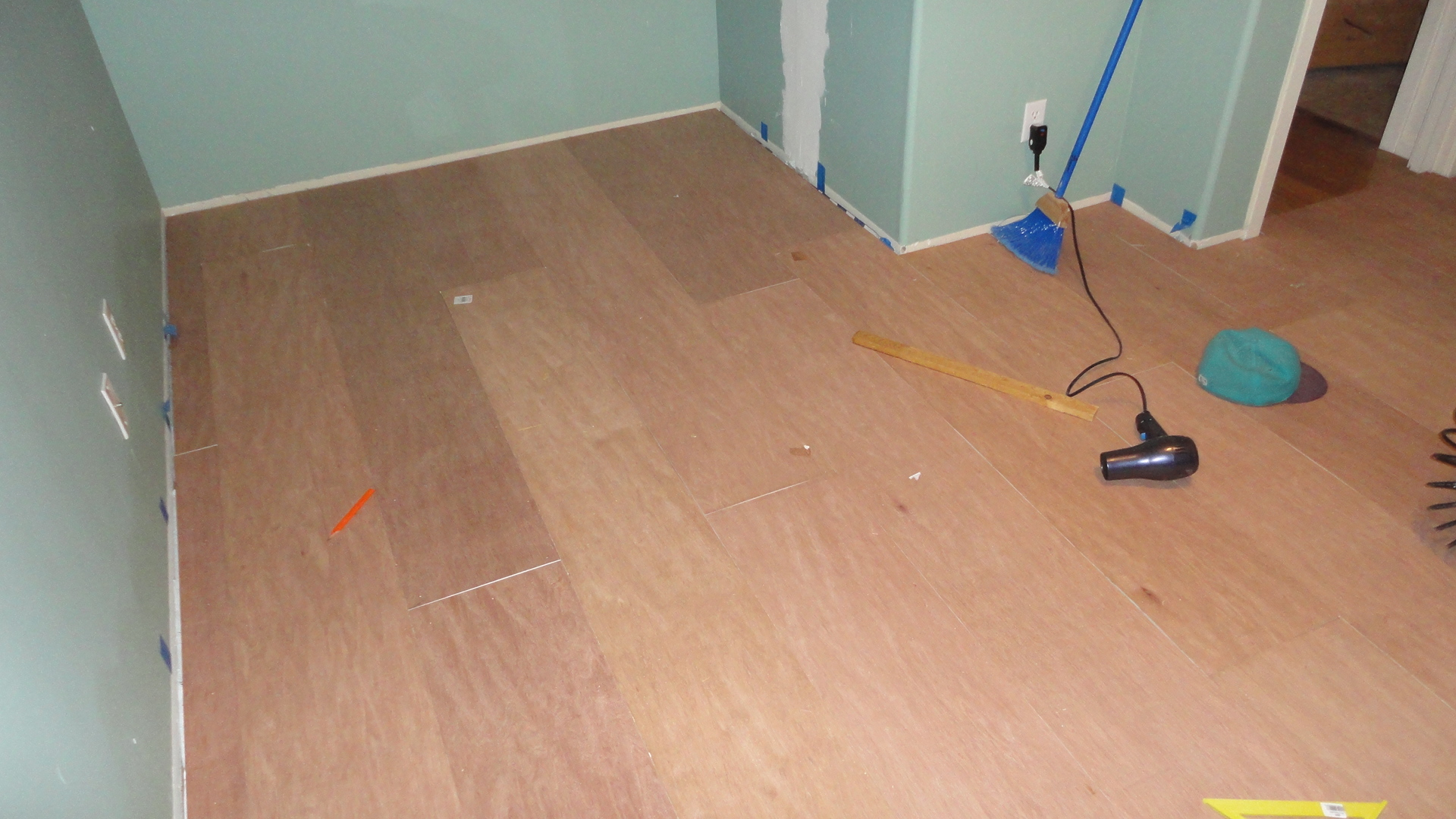 Terrazzo On Wood Subfloor: Transition time how to connect tile and hardwood floors.