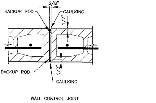 Masonry Control Amp Expansion Joints