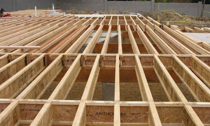 Composite I Joists